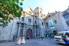 San Agustin Church, a Roman Catholic church under the auspices of The Order of St. Augustine Royalty Free Stock Photos
