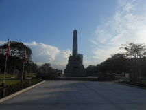 Manila in the Philippines. The image of Manila in the Philippines Royalty Free Stock Images