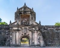 Saint James image at main gate to Fort Santiago, Manila Philippines