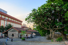 Manila, Philippines - March 7, 2016: Vintage wall`s Intramuros in Manila Stock Images