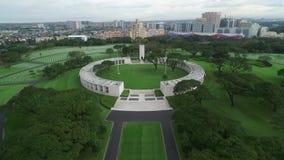 Manila pomnik i Lokalizować w forcie Bonifacio, Taguig miasto, metro Manila zdjęcie wideo