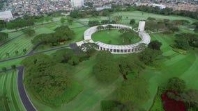 Manila pomnik i Lokalizować w forcie Bonifacio, Taguig miasto, metro Manila zbiory wideo