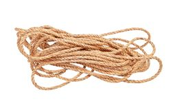 Manila rope Royalty Free Stock Image
