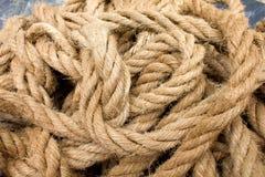 Manila rope Royalty Free Stock Photography