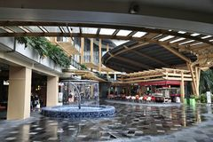 Manila shoppinggalleria arkivbild