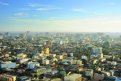 Manila skyline Stock Images