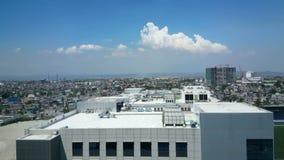 Manila skyline, Philippines stock footage