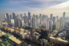 Manila Skyview Royalty Free Stock Image