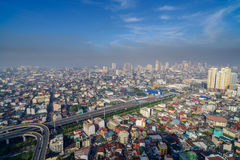 Manila Skyview Royalty Free Stock Photos