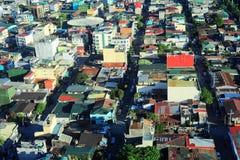 manila slums royaltyfri fotografi