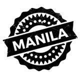 Manila stamp rubber grunge Stock Photo