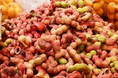 Manila tamarindfrukt Arkivfoto