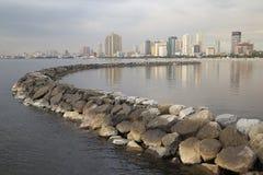 Manila zatoka Zdjęcie Stock