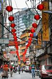 Manilas kineskvarter Fotografering för Bildbyråer