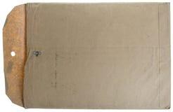 Manilla Umschlag der Weinlese Lizenzfreie Stockfotografie