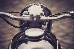 Manillar de la motocicleta Imagenes de archivo