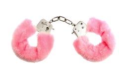 Manillas del color de rosa Fotografía de archivo libre de regalías