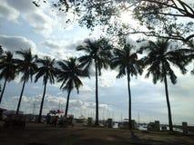 Manille, Baywalk Image libre de droits