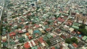 Manille, la capitale de la vue supérieure de Philippines clips vidéos