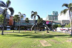 MANILLE - 17 MAI : Bonifacio High Street bloque le mostl de caractéristiques Image stock