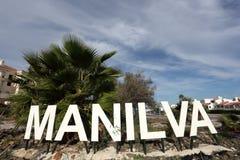 Manilva, Коста del Sol, Испания стоковые фотографии rf