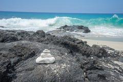Manini-` owali Strand Hawaii Lizenzfreie Stockfotografie