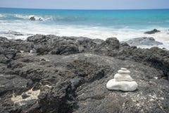 Manini-` owali Strand Hawaii Lizenzfreie Stockfotos