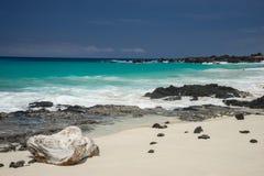 Manini-` owali Strand Hawaii Lizenzfreies Stockbild