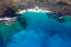 Maniniowali Beach, Big Island, Hawaii Stock Photography