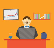 ManInOffice Images stock