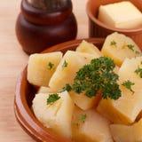 Manioca esculenta del Manihot, yucca, manioca, mandioca, AR brasiliana Fotografie Stock