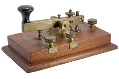 Manipolatore del Morse Fotografie Stock