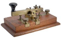 Manipulante de Morse Fotos de archivo