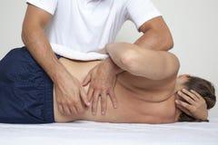 Manipulação dorsal Fotografia de Stock Royalty Free