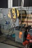 The manipulator crane the garage Royalty Free Stock Photography
