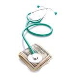 Expences för en sjukvård Arkivfoto