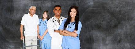 Manipulerar och sjuksköterskor arkivfoto