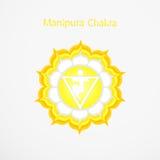 Manipura Chakra Stock Afbeelding