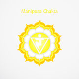Manipura chakra Stock Image