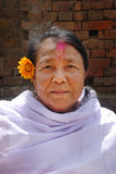 manipuri妇女 库存图片
