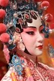 Maniquí chino de la ópera fotos de archivo