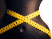 Maniquí con la medida de cintura Fotos de archivo