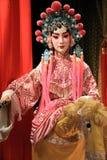 Maniquí de la ópera del Cantonese Foto de archivo libre de regalías