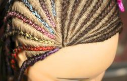 Maniquí de los peinados Fotos de archivo