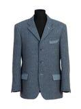 Maniquí en Gray Business Suit elegante Fotografía de archivo libre de regalías