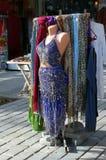 Maniquí vestido como bailarín oriental imágenes de archivo libres de regalías