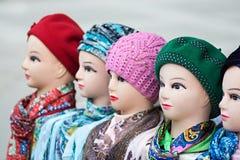 Maniquíes femeninos de las cabezas Fotos de archivo libres de regalías