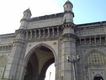 Manière majestueuse de porte d'Inde Mumbai Photos stock