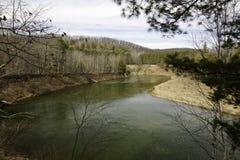 Manistee-Flussansicht Stockfoto