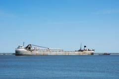 Manistee i Tugboat Obraz Royalty Free